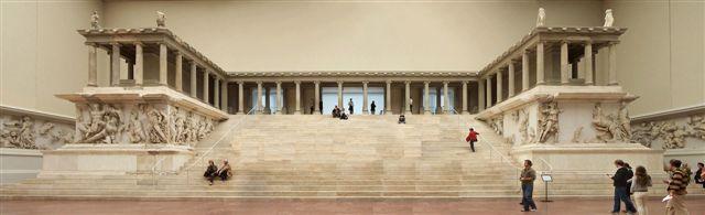 Altar de Zeus en la antigua Pergamo