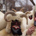 La fiesta de los busós de Mohács en Hungría