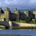 Castillo de Conwy, en Gales