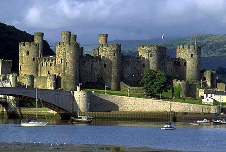 Castillo Conwy Gales