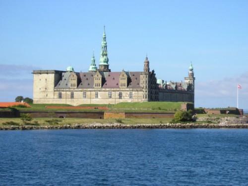 castillo de Kronborg en Dinamarca