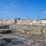 La antigua ciudad de Cirene, Libia