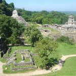 Zona arqueológica de Palenque, en Chiapas