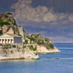 La isla de Corfú, en Grecia