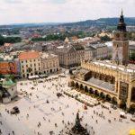 El centro histórico de Cracovia