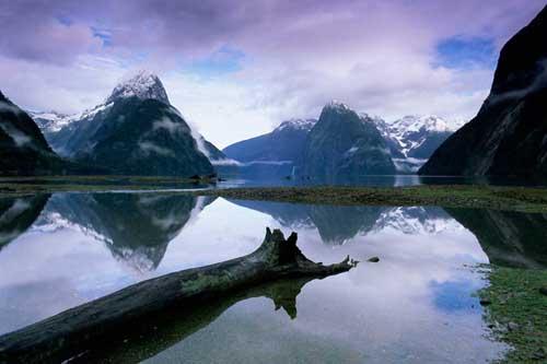 Fiordos de Nueva Zelanda