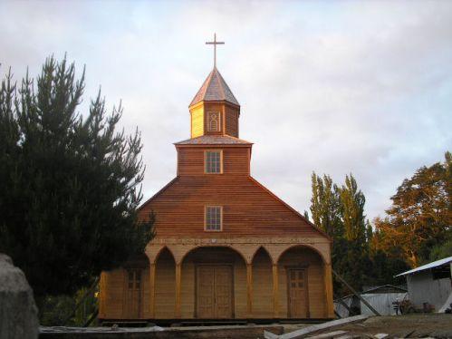 Iglesia de Ichuac en Chiloé