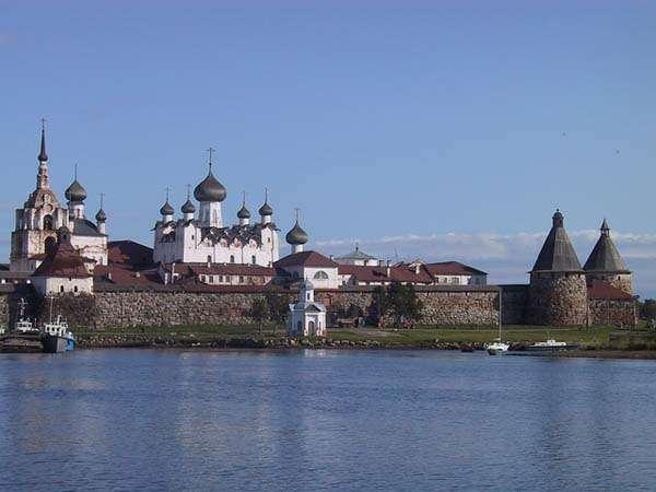 Islas Solovetsky en Rusia