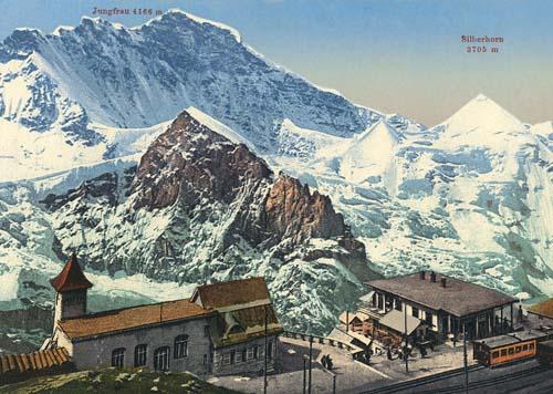 Jungfrau en Suiza