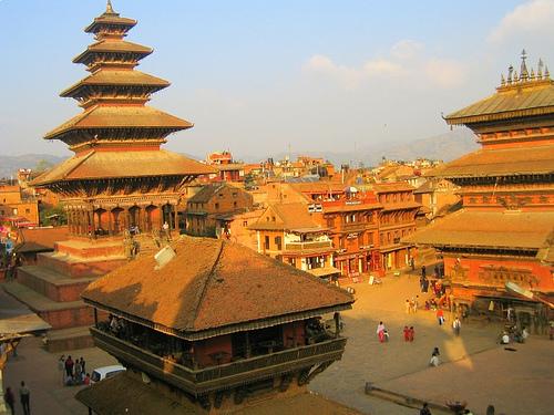 Monumentos en el Valle de Katmandu