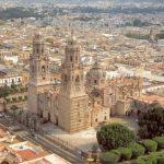 El centro histórico de Morelia en México