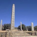 El sitio arqueológico de Aksum, en Etiopía
