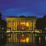 El Palacio de Chehel Sotoun, en Irán