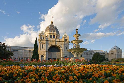 Palacio real y jardines Carlton
