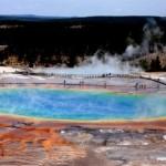 El Parque Nacional de Yellowstone en Estados Unidos
