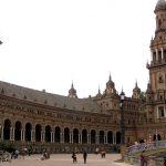 La Plaza España de Sevilla y la Torre del Oro, candidatas