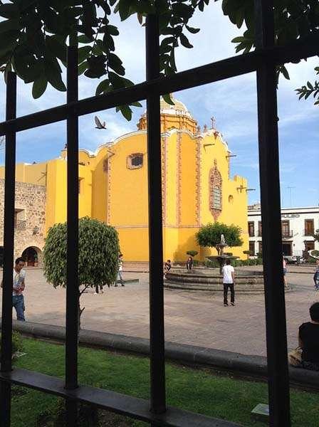 Plaza en San Luis de Potosí