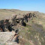 El Precipicio de los Bisontes, en Canadá