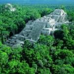 La reserva natural y las ruinas mayas de Calakmul