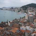 El núcleo histórico de Split, Croacia