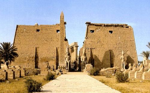 Tebas y su necr polis en egipto patrimonios de la humanidad for Arquitectura egipcia