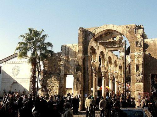 Templo de Jupiter en Damasco