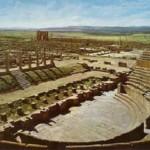 Timgad, historia romana en Argelia