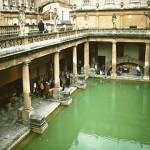 La ciudad de Bath, en Inglaterra
