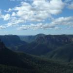 La región de las Montañas Azules, Australia