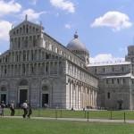 La Plaza del Duomo, en Pisa