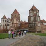 El castillo de Mir, Bielorrusia