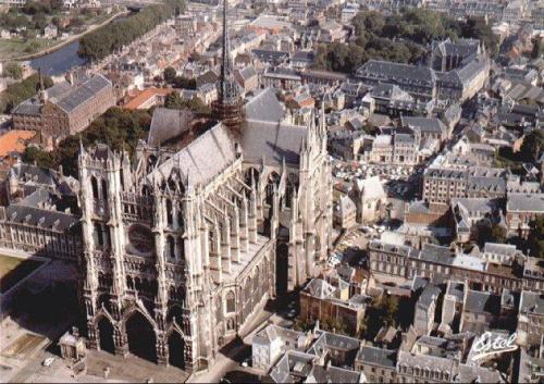 la catedral de amiens en francia patrimonios de la. Black Bedroom Furniture Sets. Home Design Ideas