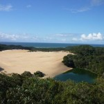 La isla Fraser, isla de las dunas
