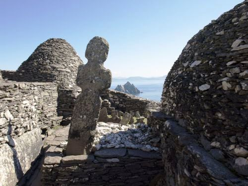 Monasterio en Skelligs Michael