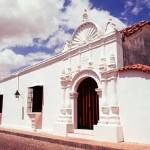 La ciudad de Coro y su puerto, en Venezuela