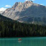 Las montañas rocosas de Canadá