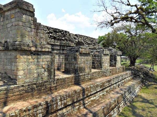 ruinas de Copan en Honduras