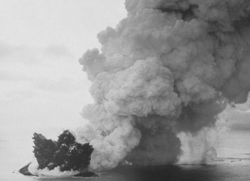 erupcion surtsey
